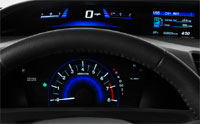 2012 Honda Civic Dash