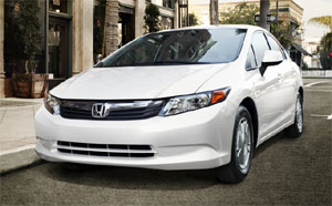 2012 Honda Civic at Honda of Pasadena