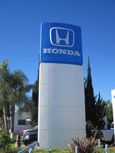 Pasadena Honda Sign