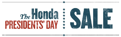 Honda Pasadena Presidents Day Sale