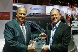 MotorWeek Honda Odyssey Drivers Choice Award