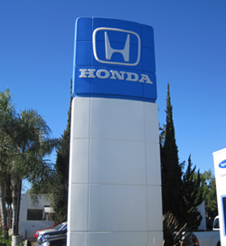 Honda Sign for Glendale Honda Buyers