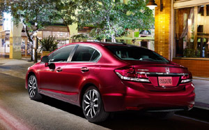 2014 Honda Civic at Honda of Pasadena