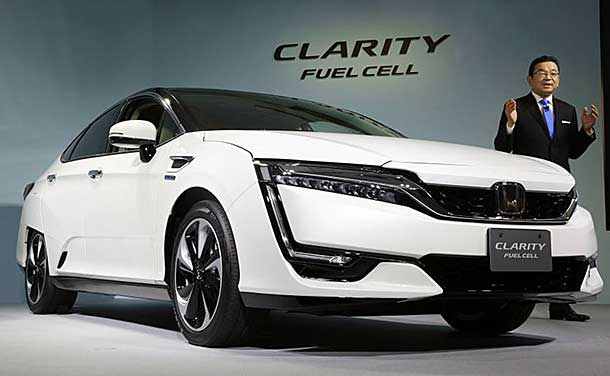 Honda Clarity Fuel Cell On Sale